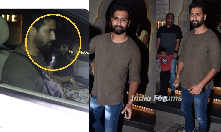 vicky kaushal snapped on a dinner date with a mystery woman