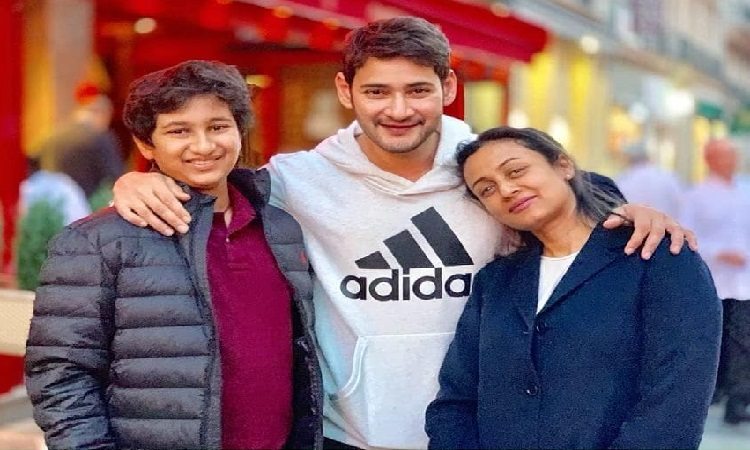mahesh babu spends time with family
