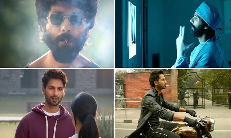 kabir singh teaser has released