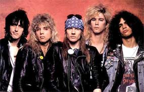 International hard rock band Guns N Roses