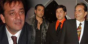 Dharamendra, Sunny and Bobby wished luck to sanjay dutt