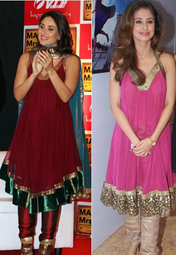 , who according to youcarries the outfit better – Urmila or Kareena