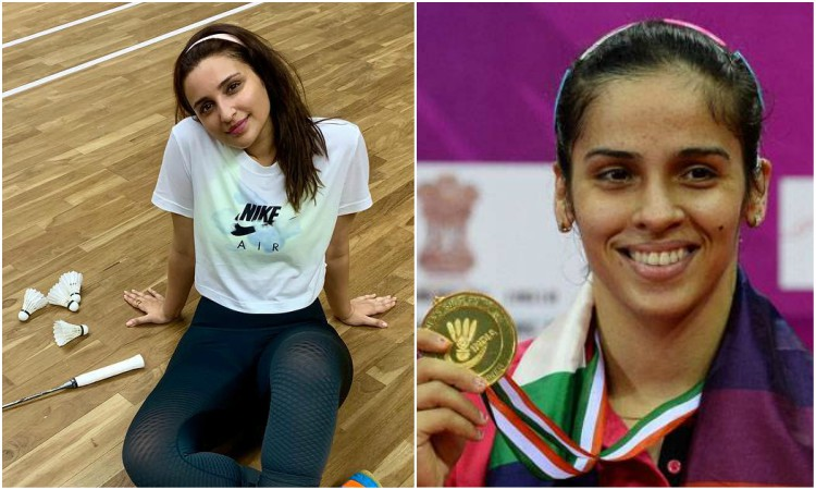 pari starts training for saina biopic