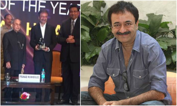 rajkumar hirani felicitated as director of the year