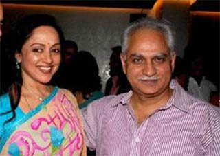 hema malini and director ramesh sippy