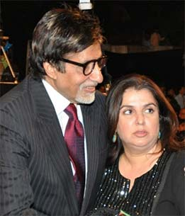 farah khan and amitabh bachchan