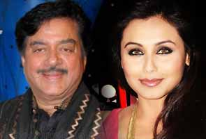 Shatrughan sinha and Rani mukherjee