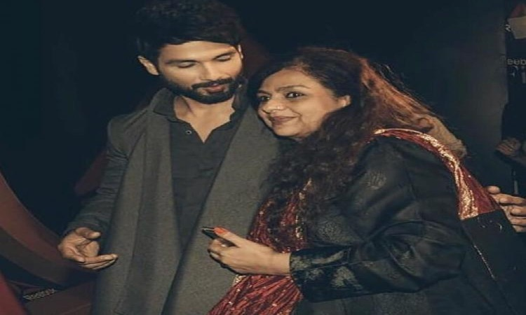 when shahid kapoor saved his mother from a stalker