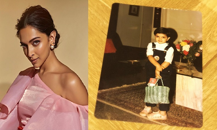 deepika shares a throwback picture