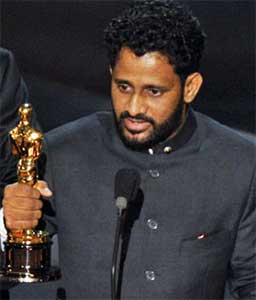 sound technician Resul Pookutty