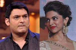 deepika padukone and comedian kapil sharma