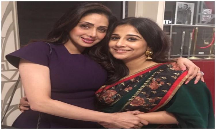 vidya balan wants to act in sridevi biopic