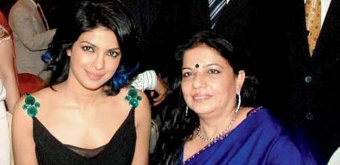 Priyanka and her mother Madhu Chopra