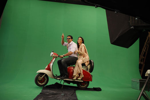 Title song of Aloo Chaat shot! | 6653
