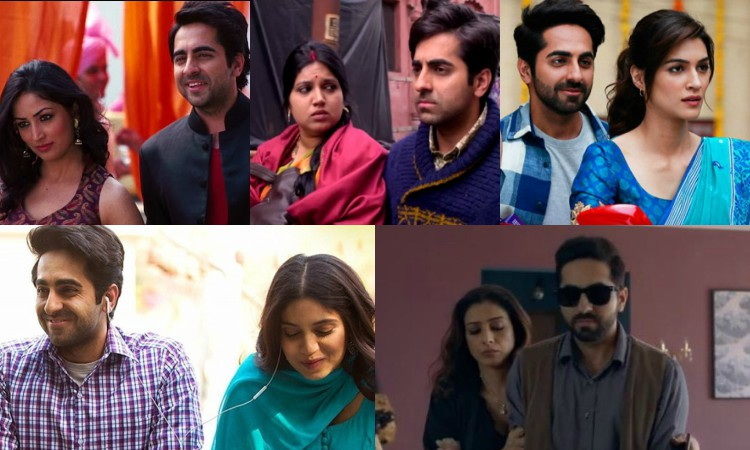 all roles played by ayushmann khuranna