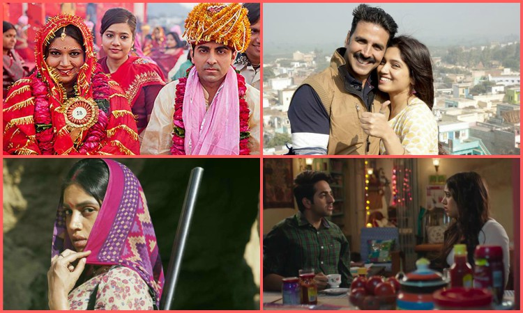 different roles played by bhumi pednekar