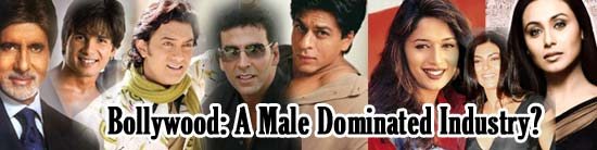 Bollywood: A Male Dominated Industry