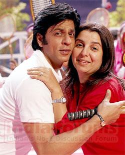 farah khan big - Farah Khan dumps Shahrukh, chooses Akshay
