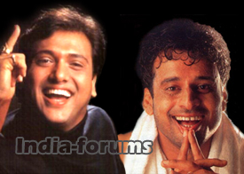 Govinda and Manoj Bajpai