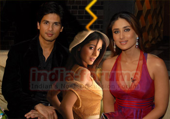 Shahid, Amrita and Kareena