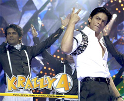 Shahrukh Khan in Krazzy 4