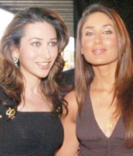 Karishma and Kareena together