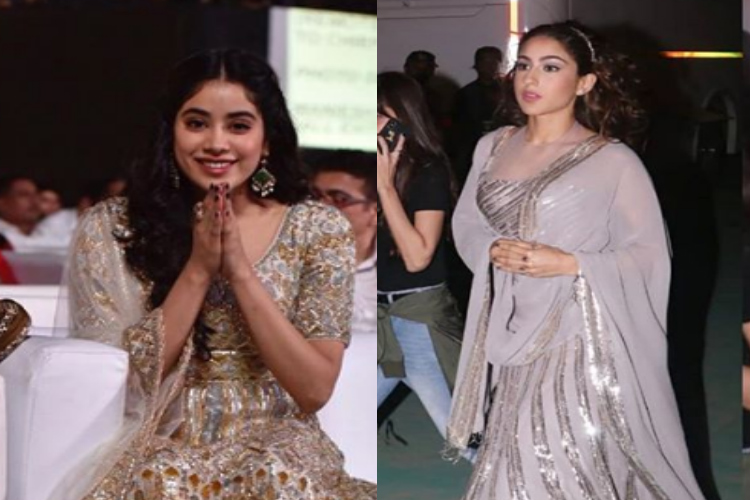 sara ali khan and janhvi kapoor at umang 2019