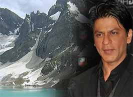 shahrukh khan in kashmir valley
