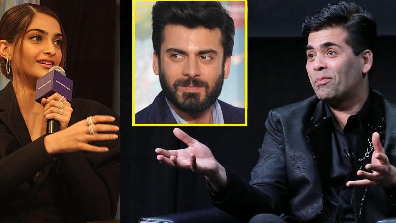 sonam accuses karan of sending fawad back