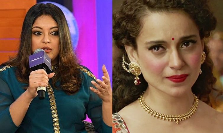 tanushree dutta kangana ranaut crying