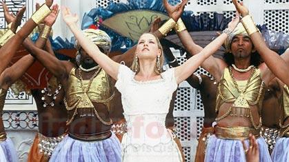 Marigold dance sequence