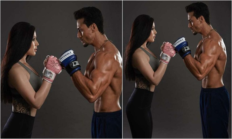 tiger and sister krishna get ready for a fight night at MMA
