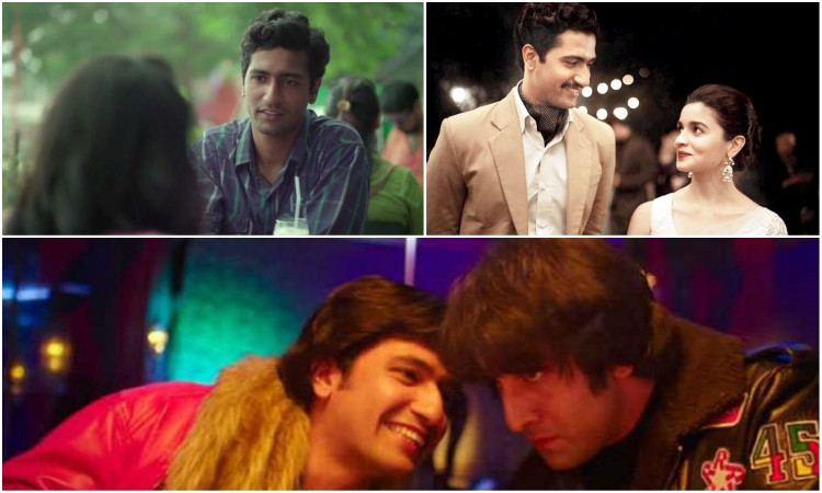 different roles played by vicky kaushal