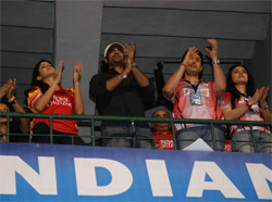 Woodstock Villa Team at Bangalore IPL