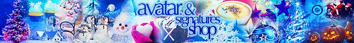 Avatar & Signatures Shop