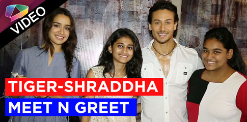 India Forums Fans meet Tiger Shroff-Shraddha Kapoor
