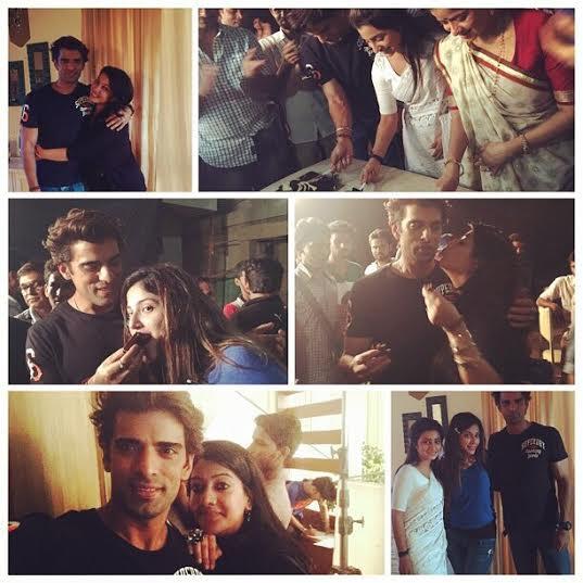 Farewell party For Mohit & Neha On Doli Armaanon Ki! | 26510