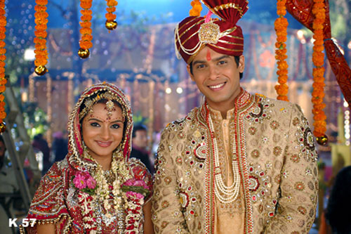 The wedding sequence which will be aired on March 26th , was shot in ...
