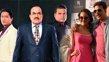 akshay kumar and sonakshi sinha in cid TV show