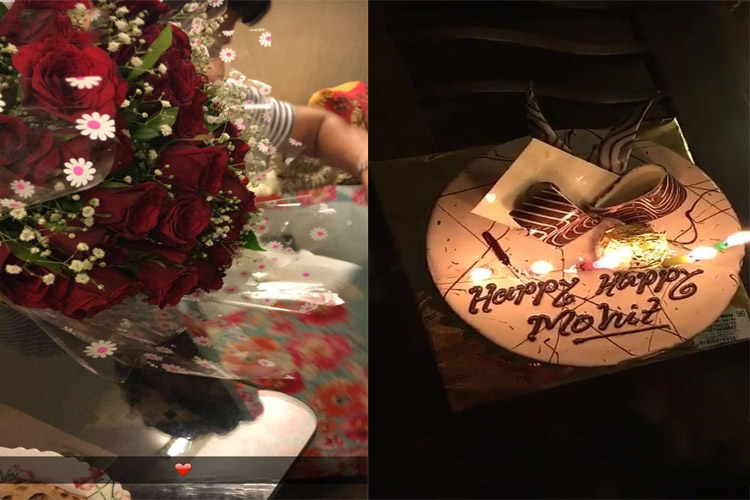 Cake Images Mohit : Mouni Roy FINALLY expresses her LOVE for Mohit Raina ...
