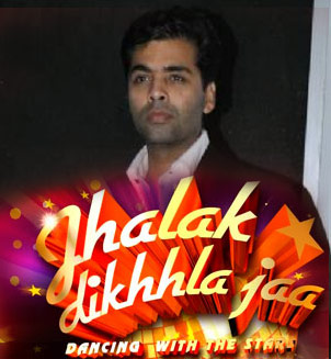 karan johar as a judges in jhalak dikhhla jaa