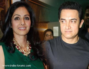 sridabevi and aamir khan