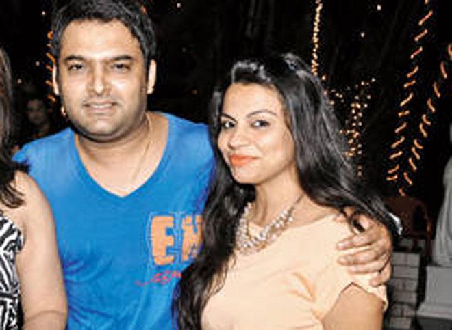 kapil sharma wife source http imgarcade com 1 kapil sharma with his