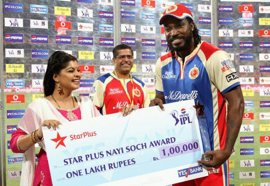 Veera articles archive page 6 3262769 ek veer ki ardaas sneha wagh aka ratan of star plus veera shares her experience of presenting the nayi soch award to chris gayle at the ipl voltagebd Images