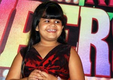 saloni daini in in nanhe superstars