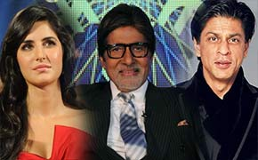 kartina kaif and Shahrukh Khan in kaun banega crorepati 6