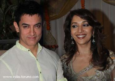 aamir khan and madhuri disit