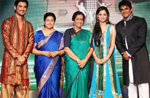 Catch Manav  Archana with their reel mothers on Imagine  s Big Money    Sushant Singh Rajput Real Family Photo