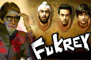 amitabh bachchan watch movie fukrey