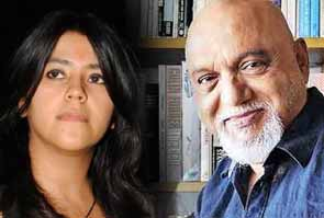 Ekta kapoor and Pritish nandy